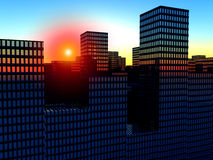 The City 2 Royalty Free Stock Images