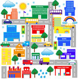 City 2 stock illustration