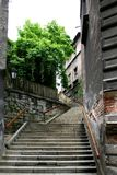 City. Old center of city - Bielsko-biala - Poland Royalty Free Stock Photography