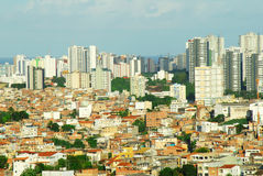 City in 3rd World royalty free stock photography