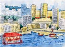city Ilustracji