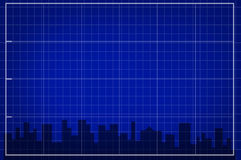 The city. Grid illustration stock illustration