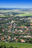 City from above. Aerial view of CIty Stock Photo