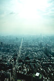 City from above Royalty Free Stock Image
