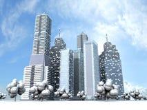 City Royalty Free Stock Photography