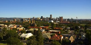 City of Adelaide Stock Image