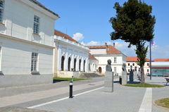 City Alba Iulia, Transylvania, University Royalty Free Stock Photo