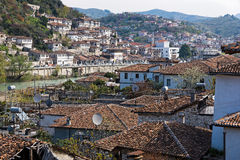 City in Albania Stock Images