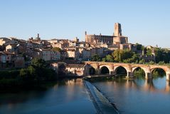 City of Albi royalty free stock image