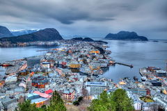 City of Alesund Stock Image