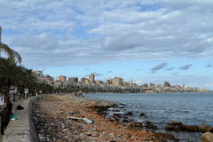 The city of Alexandria in Egypt Royalty Free Stock Photography