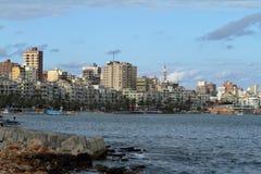 The city of Alexandria in Egypt Stock Photos