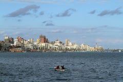 The city of Alexandria in Egypt Royalty Free Stock Photos