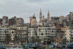 The city of Alexandria in Egypt Royalty Free Stock Images
