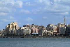 The city of Alexandria in Egypt Stock Photo