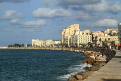 The city of Alexandria in Egypt Stock Image