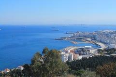 Algiers capital city of Algeria. City of Algiers in Algeria royalty free stock photos