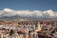 City of Alicante, Spain Royalty Free Stock Photos