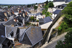 The city Amboise in France Royalty Free Stock Image