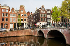 City of Amsterdam in Holland Stock Photo