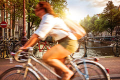 The city of Amsterdam Royalty Free Stock Image