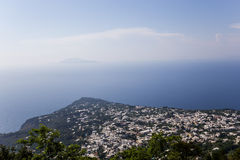 City of Anacapri, Capri island,  Italy Stock Image