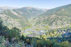 City of Andorra La Vella. Stock Photo