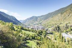 City of Andorra La Vella. Royalty Free Stock Photo