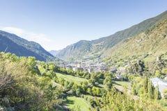 City of Andorra La Vella. Royalty Free Stock Image