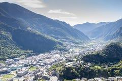 City of Andorra La Vella. Stock Photography