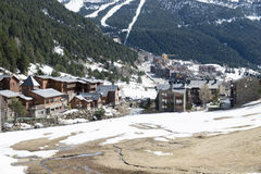 City of Andorra La Vella. Royalty Free Stock Photos