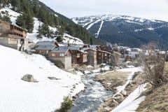 City of Andorra La Vella. Stock Photos