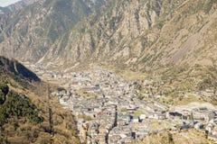 City of Andorra La Vella. Royalty Free Stock Photography