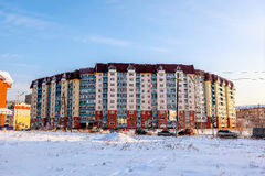 City Angarsk.winter- 29 Stock Photo