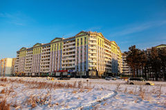 City Angarsk.winter- 31 Stock Photography