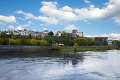 City of Angers, France Stock Photo