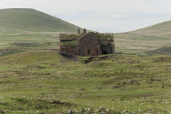 City of Anı. Ani is a ruined medieval Armenian city-site situated in the Turkish province of Kars, near the border with Armenia Royalty Free Stock Images