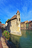 The city of Annecy in Provence Royalty Free Stock Photos