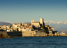 The city of Antibes Royalty Free Stock Photos