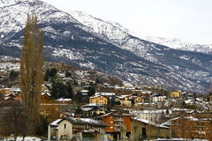 City of Aosta Stock Photo