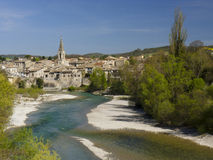City of Aouste sur Sye, Drome Royalty Free Stock Image