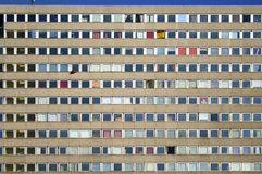 City apartment block Royalty Free Stock Images