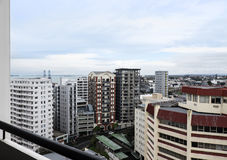 City apartment living in Auckland, New Zealand, NZ Stock Photography