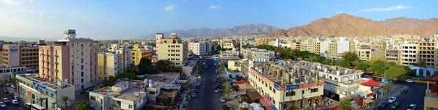 City of Aqaba. Aqaba city in southern Jordan royalty free stock photography