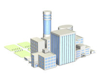 City of architectural models Royalty Free Stock Images