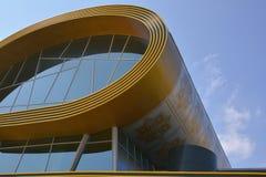 City architecture of Baku, modern building Carpets museum Royalty Free Stock Photo