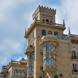 City architecture of Baku, old historical building Royalty Free Stock Images
