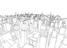 City architecture Stock Image
