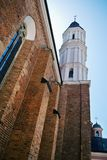 City architecture. Holy Trinity church in Opole. Stock Photography