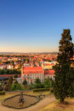 City Archive of Bamberg. View over Bamberg and the historical archive of the city Stadtarchiv in Bamberg, Germany   Oberfranken Royalty Free Stock Photos